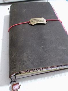 Bullet Journal Set up in a FauxDori