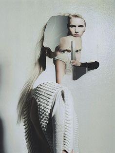 Jesse Draxler, fashion collages