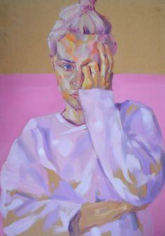up and coming contemporary artists Stephanie K kane Beautiful Artwork, Most Beautiful, Art Of Man, Oil Portrait, True Art, Art For Art Sake, Print Artist, Contemporary Artists, Cute Wallpapers