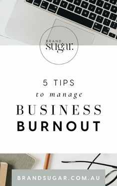 Business burnout is real, and especially after the year we have had I would say very common amongst small business owners. The grind of having to do it all, and always being busy just wears you down and the exhaustion can be totally demotivating. Don't fear though, I have been burnout many a time and I'm here to tell you it will be ok. Here are my top 5 tips for managing business burnout to help re-energize you and get you back on track!