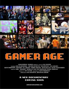 Gamer Age is a documentary directed by filmmaker Ian Santer and Los Angeles-based art collective AnimatronicAckbar that explores the impact of video games on popular culture. The documentary is cur...