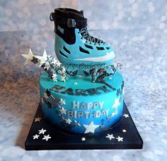 Rollerblade cake