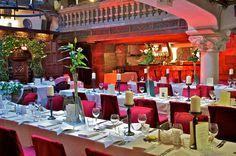 Wedding reception in Belleek Castle # perfection #greenery
