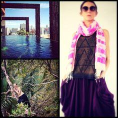 Magic Dust Vest in Brown + Parachute Maxi Skirt + Snap Snap Shawl. All available on mapaya.pl #siamatsiam #jungle #mapaya