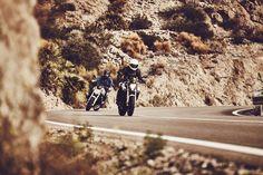 CORTADO EN EL MAR // BMW Motorrad R1200R & F800R Cafe Racer in Almeria  - von Moritz Thau für Heldth