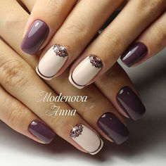 Brilliant Nails, Crescent Nails, Long Nails, Nail Trends Feather Nails 20 … - Most Trending Nail Art Designs in 2018 Nail Designs 2017, Best Nail Art Designs, Trendy Nails, Cute Nails, Hair And Nails, My Nails, Nailart, Nail Art Design Gallery, Modern Nails