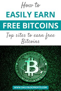 Do you want to get free bitcoins without mining? Check out this article with the best and most trusted websites and faucets that will allow you to ear Earn Money From Home, Earn Money Online, Make Money Blogging, Way To Make Money, Money Fast, Free Money, Saving Money, Cryptocurrency Trading, Bitcoin Cryptocurrency