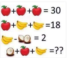 Este problema matemático circula hoy por las redes.... Cuál es la respuesta??? Si creéis q es 16.... No lo es! Poned la SOLUCIÓN EN LOS COMENTARIOS. Mañana pongo la solución correcta A VER SI ACERTÁIS!!!!