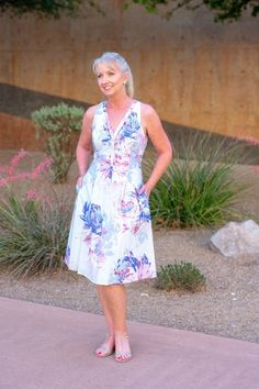 8b81a414d466 Shop the Look from Dressed For My Day on ShopStyle - Watercolor sundress  for a Festive Summer Evening