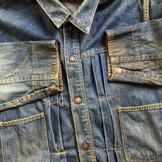 Old Denim Jacket from @bombyxvintage