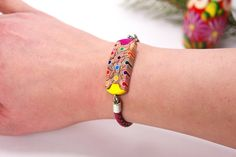 Bracelets from colored pencils, Bracelet from colored pencils, Jewelry from pencils, Handmade jewelry, Bracelets, Pencil art, Bracelets by ArpiHappyPencils on Etsy