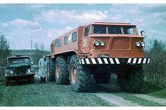 ZIL E167 Experienced '12 .1962 http://www.trucklist.ru/media/supervezdehod-dlya-superbezdorozhya-zil-e167_11101.html