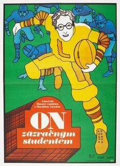Movie Poster - The Freshman, Vratislav Hlavatý, 1977
