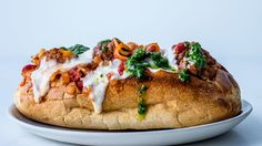 For this meatball sandwich, we like a combo of spicy and sweet Italian sausage, but use any uncooked sausage you like—merguez or chorizo would work.