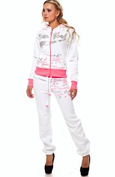 Rebelvision - NEW YORK TRACKSUIT WHITE-PINK, $119.99 (http://www.rebelvisiononline.com/new-york-tracksuit-white-pink/)