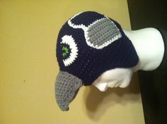 Seahawks hat by LilGifts4U on Etsy, $27.35