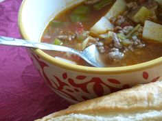 So. I've been fiddling around in my kitchen with ground beef. Specifically, I've been trying to figure out how to come close to the hot green chile and ground beef caldillo (soup) served at one of ...