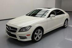 2013 Mercedes-Benz CLS-Class Base Sedan 4-Door 2013 MERCEDES-BENZ CLS550 TWIN TURBO SUNROOF NAV 39K MI #058329 Texas Direct