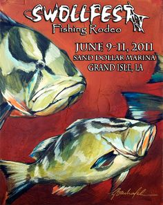 Swollfest - a great fishing rodeo in June at Sand Dollar Marina supporting MDA and American Diabetes Association