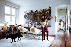 via Freunde von Freunden: Cathy Boom — Creative Director, Editor & Entrepeneur, Apartment, Kreuzberg, Berlin
