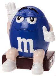 Cookie Jars, M's Cookie Jar (Blue)