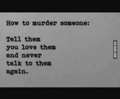How to murder ..