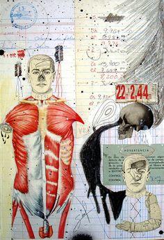 ADVERTENCIA by Alvaro Sánchez (b1975; Guatemala) http://www.artslant.com/global/artists/show/135028-alvaro-s%C3%A1nchez