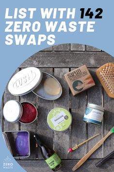 142 Zero Waste Products: Ultimate Beginners List of Zero Waste Swaps Find the ULTIMATE list with zero waste swaps and 142 zero waste products! To make it easier, I divided everything into a few categories. Zero Waste, Reduce Waste, Reduce Reuse, Reuse Recycle, Upcycle, Waste Reduction, Green Living Tips, Diy Lip Balm, Hacks