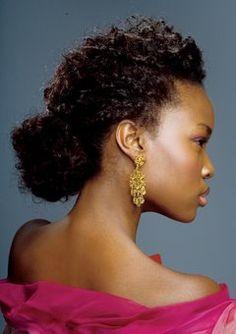 Penteados para cabelos crespos & afros naturais - VilaClub
