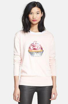 Markus Lupfer 'Natalie' Sequin Cupcake Sweatshirt available at #Nordstrom