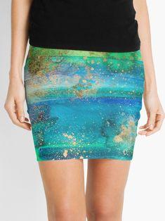 'Lake Kayaking' Mini Skirt by ANoelleJay Pencil Skirts, Mini Skirts, Nature Artwork, Trendy Girl, Crazy Outfits, Gold Gifts, Hoodie Dress, Stocking Stuffers, Chiffon Tops