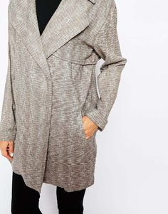 4a1771a4c3 Glamorous Lightweight Textured Mac at asos.com