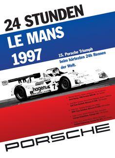 Porsche victory at Le Mans, 1997