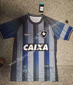 4243d6784 Commemorative Edition Botafogo de FR Gray Thailand Soccer Jersey AAA-LD