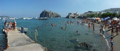 "Ischia Ponte - Water-taxi Pier    At the beach ""Miramare e Castello""    Thank you Peter http://www.pbase.com/isolaverde"