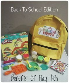Play-Doh has been around for years ( since 1956 to be exact) and is a childhood staple for imaginative play. But the buck doesn't stop there. We recently received a gift from Hasbro, one of t…