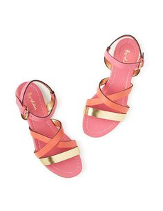 Colourblock Sandal