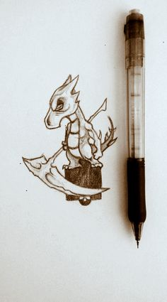 For more of my stuff you can check out my facebook page aswell:  https://www.facebook.com/zombiebunnyart/   #2d #illustration #drawing #traditional #surreal #concept #art #pencil #pokemon #cubone #evolution