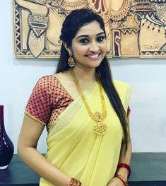 Southindian Actress Neelima Rani Saree Stills. Southindian Actress Neelima Rani Saree Stills. Top Celebrities, Celebs, Tamil Girls, Beautiful Saree, India Beauty, Indian Girls, Desi, Photoshoot, Actresses