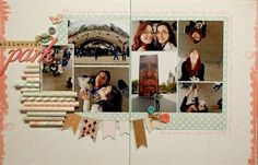 #papercraft #scrapbook #layout    Krystle Thomas for MME
