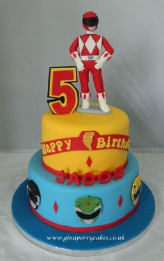 Power Ranger for a 5 year old