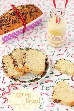Eggnog chocolate bread | roxanashomebaking.com