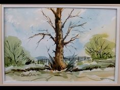 Watercoloring loose with Alan Owen - YouTube