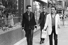 Mick Jones, Paul Simonon & Joe Strummer of The Clash