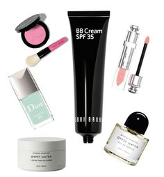 """Untitled #12"" by gracie-aday ❤ liked on Polyvore featuring beauty, Bobbi Brown Cosmetics, Christian Dior and Byredo"