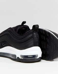 info for 55118 1909a Nike Air Max 97 Ultra  17 Trainers In Black