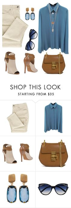 """Untitled #2340"" by ebramos ❤ liked on Polyvore featuring Gucci, Sergio Rossi, Chloé, Marco Bicego and La Perla"