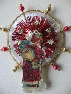 Vintage Look Victorian Christmas by HavAMarileeChristmas on Etsy