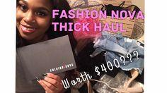 c6e2e2a5beea Fashion Nova Try-on Haul(Thick Edition)