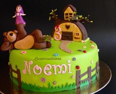 Masha and bear - Cake by Elena
